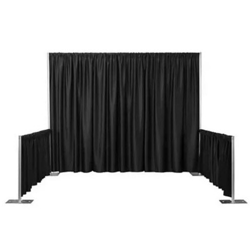 Pipe and drape booth